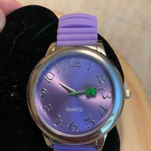 NEW Avon watch purple with silicone band